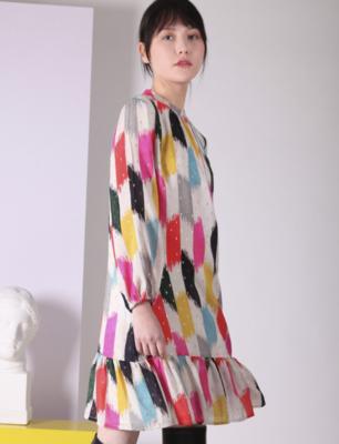 VILAGALLO Lina Nagara Dress