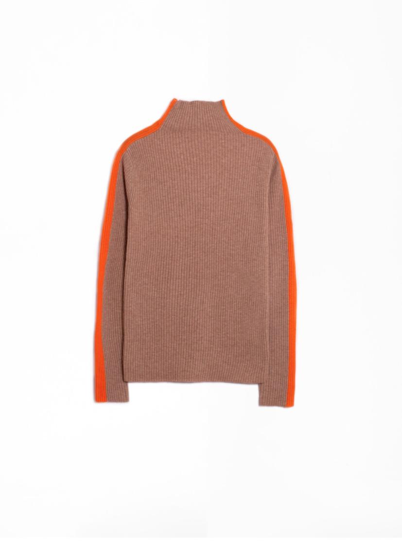 VILAGALLO Anna Camel Pink Orange Sweater