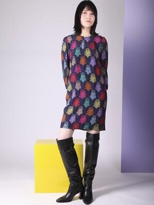 VILAGALLO Greta Dress Guyana Print