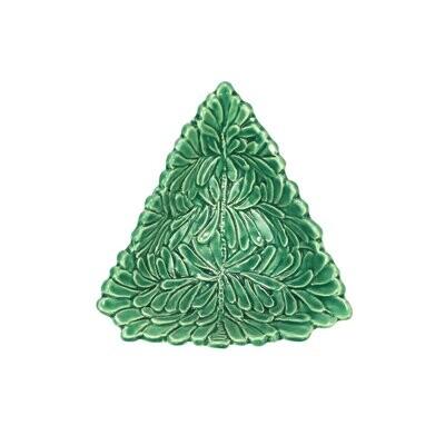 VIETRI Lastra Holiday Figural Tree Dipping Bowl