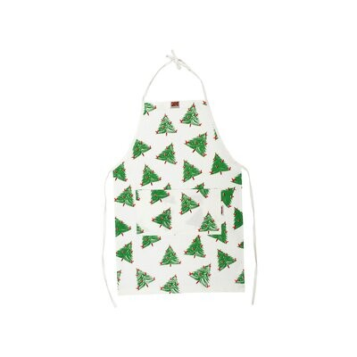 VIETRI Siciliano Linens Holiday Tree Children's Apron