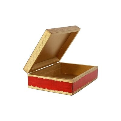 VIETRI Florentine Red & Gold Box