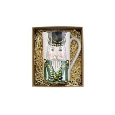 VIETRI Nutcrackers Latte Mug W/Soldier