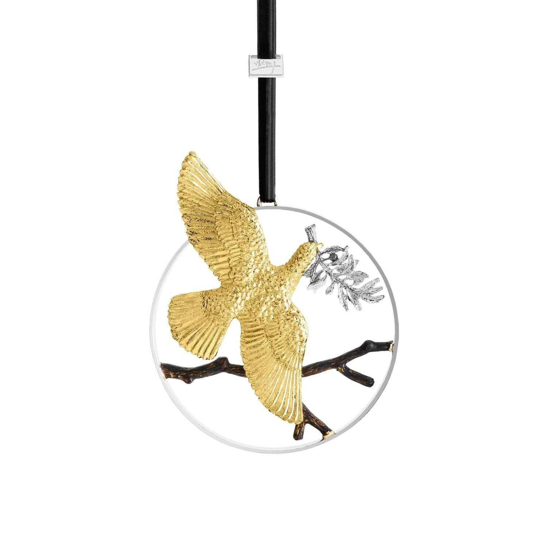 MICHAEL ARAM Peace Ornament
