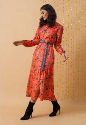 EMILY LOVELOCK Orange Bags Dress