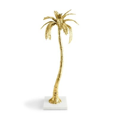 MICHAEL ARAM Palm Large Candleholder
