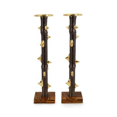 MICHAEL ARAM Thorn Luxe Candleholders
