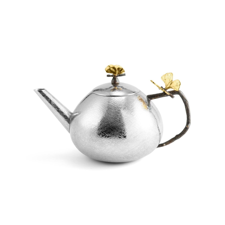 MICHAEL ARAM Butterfly Gingko round teapot