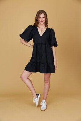 CROSBY Izzy Dress (Black)
