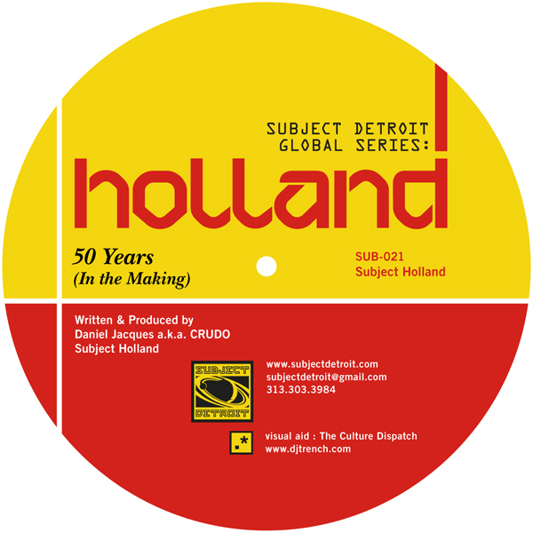 SUB021 | SUBJECT HOLLAND EP|CRUDO