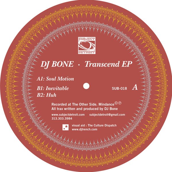 SUB018 | TRANSCEND EP | DJ BONE