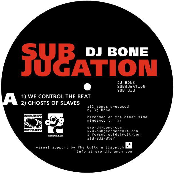 SUB030 | SUBJUGATION EP | DJ BONE **WAV