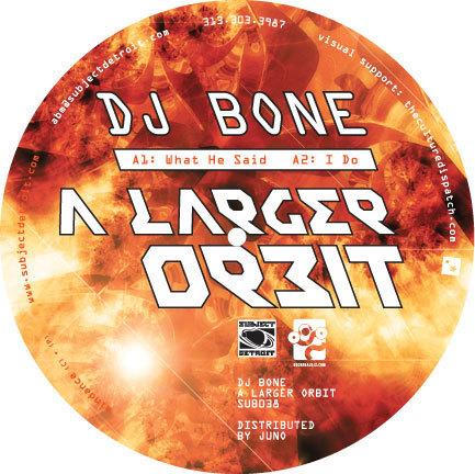 SUB038   A LARGER ORBIT  DJ BONE **WAV