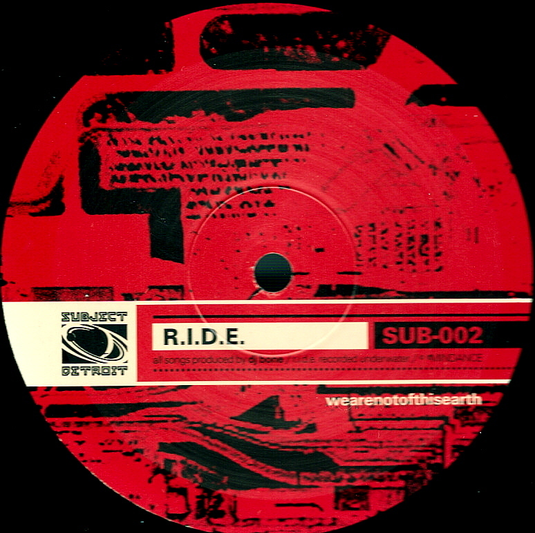 SUB002 | R.I.D.E. (Rest In Drexiyan Eternity) EP | DJ BONE **WAV