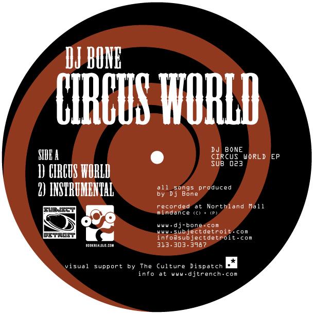 SUB023   CIRCUS WORLD EP   DJ BONE **WAV