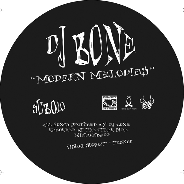 SUB010   MODERN MELODIES   DJ BONE **WAV