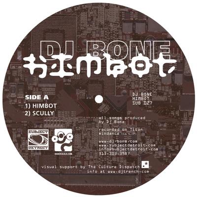 SUB027  HIMBOT EP DJ BONE