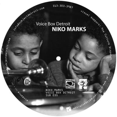 TP SUB035 | VOICE BOX DETROIT | NIKO MARKS
