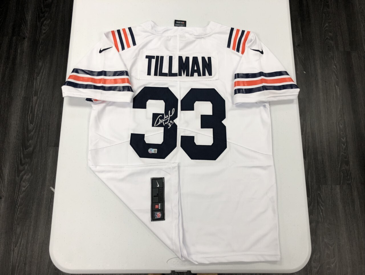 Charles Tillman Signed 1936 Throwback Jersey