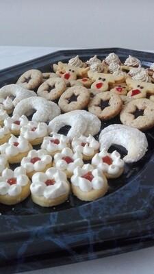 Weihnachtsgebäck, glutenfrei