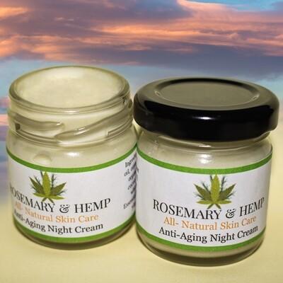 Rosemary & Hemp Night Cream