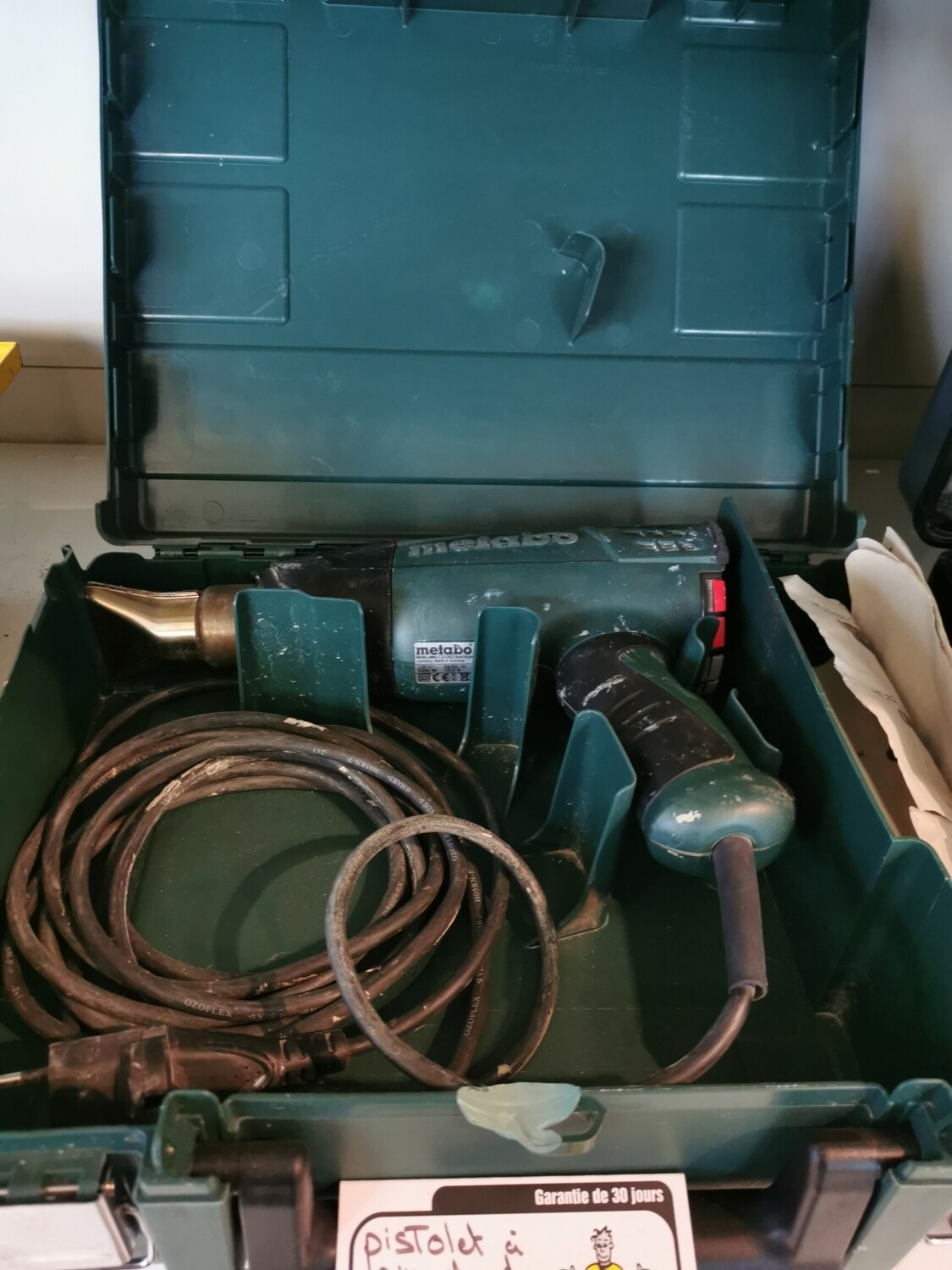 PISTOLET A AIR CHAUD METABO HE 23-650