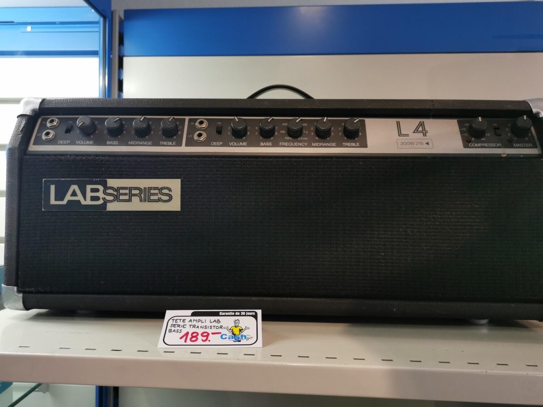 Tête d'ampli Lab series L4 200w 215