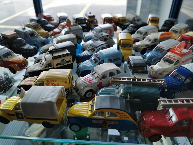 Miniatures Citroën publicitaires