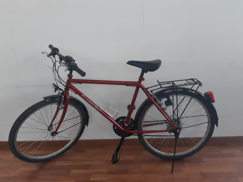 Vélo classic bike rouge