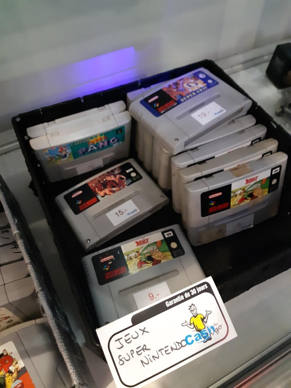 Jeux super Nintendo