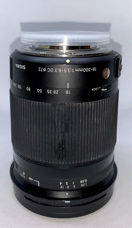Objectif sigma pour Nikon 18-300mm