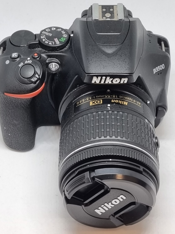 Nikon D3500 + Obj 18-55mm