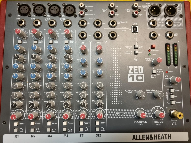 Allen & Heath ZED 10