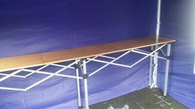 3 Meter Falttisch aus Holz