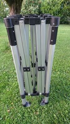 Profiline COMPACT Faltzelt 3x3 Meter Aluminium 40mm 6-kant
