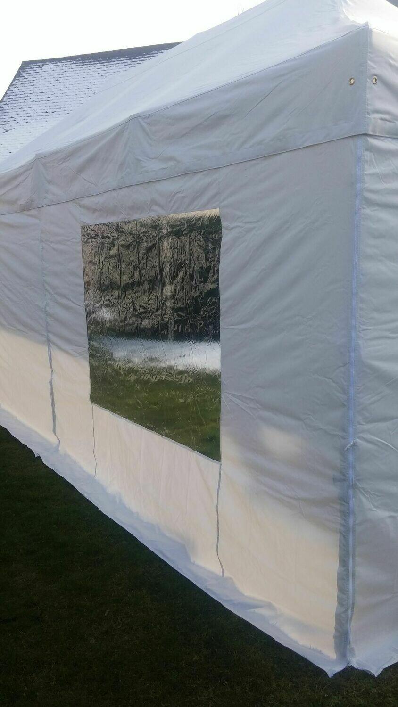 3 Meter Seitenwand für Faltzelt  mit Fenster