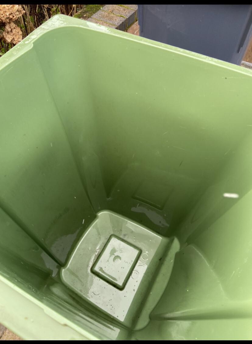Green (Recycling) Bin 12 Cleans Plus 1 Free