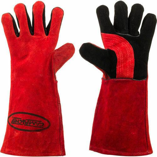 Hittebestendige handschoenen (kleur zwart)