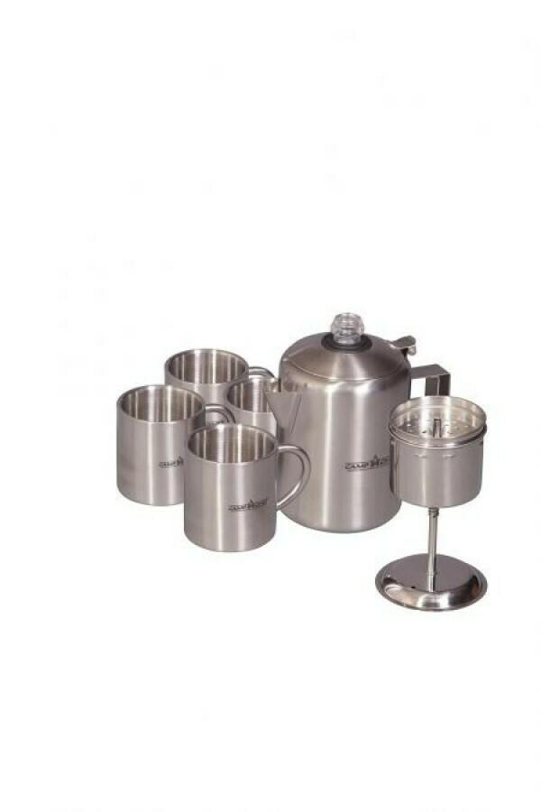 Perculator - set  / 4 tassen