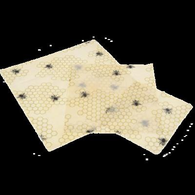 set van 3 bijenwaswraps