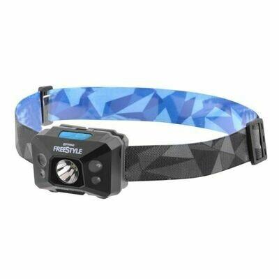 USB oplaadbare hoofdlamp met bewegingsdetectie & uv licht