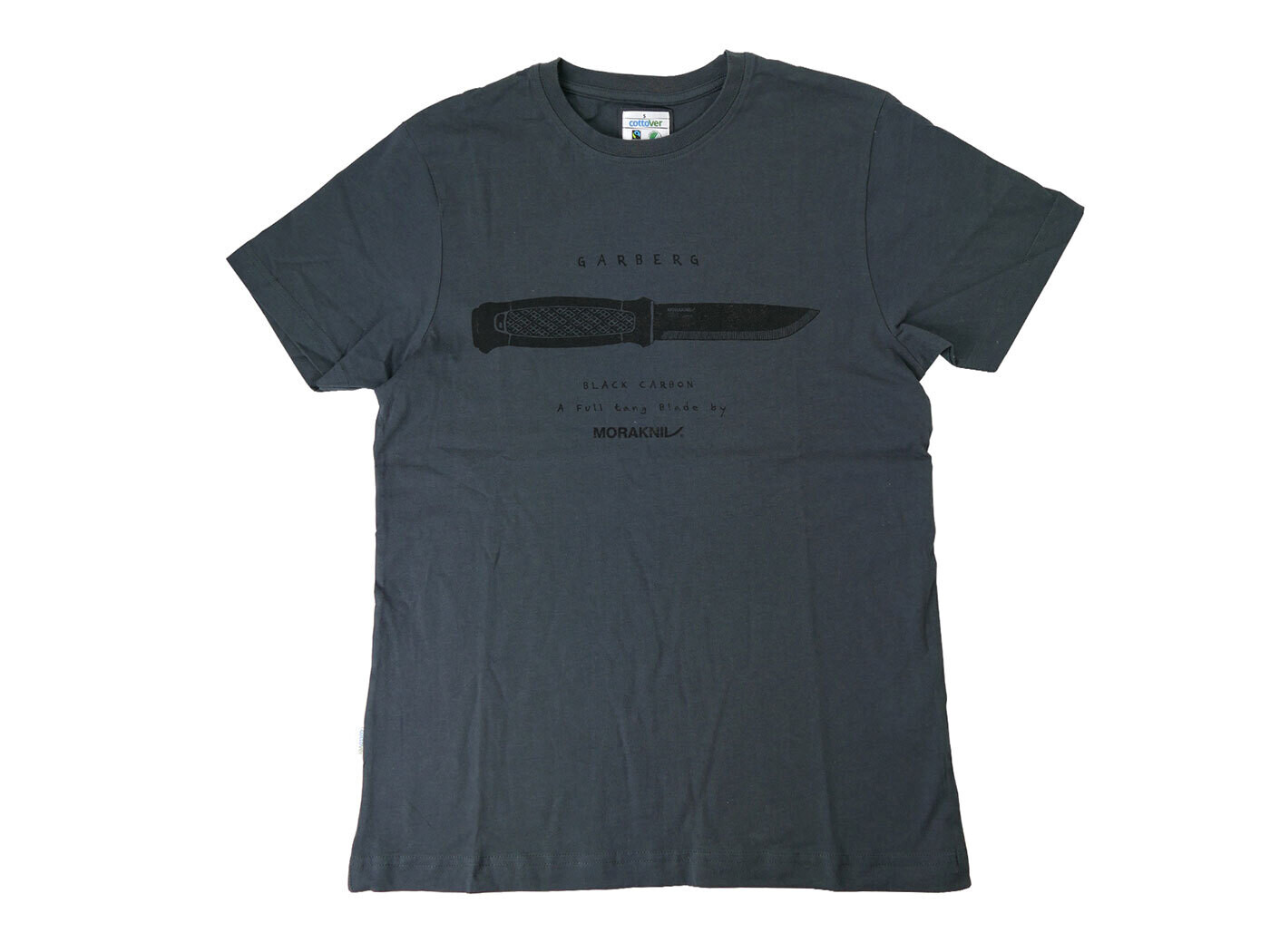 MORAKNIV T-Shirt Garberg Black Carbon