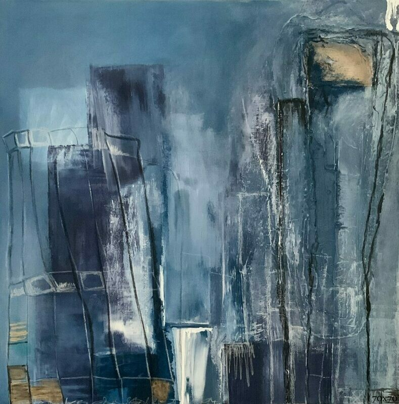 In Town | 70 x 70 cm