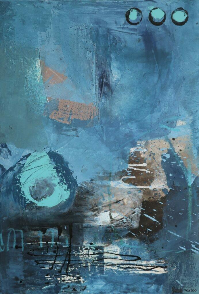 Hear the Ocean | 100 x 70 cm
