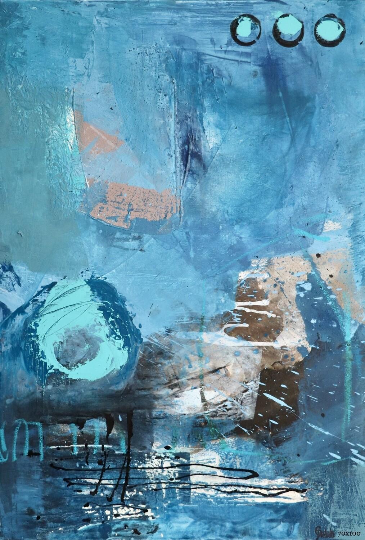 Hear the Ocean   100 x 70 cm