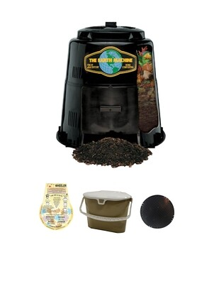 KIT 3 – Earth Machine with a Rottwheeler, Kitchen Collector and Rodent Screen/Base