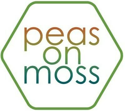 Peas On Moss Sticker