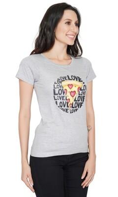 Pizza Print T-shirt