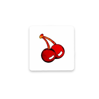 Pacman Coasters-Set of 6