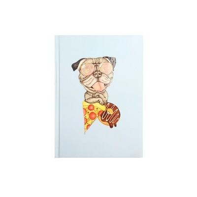 Pug with Pizza & Doughnut Diary